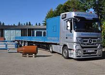 Alle Rettberg-Anlagen sind eigenständig incl. Fahrzeug, Hydraulikstationen und Online-Zugkraftmessungen für Dimensionen DN 65 bis DN 1200 einsetzbar.