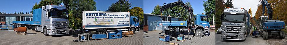 Die Experten der Firma Rettberg empfehlen den Einsatz des TIP-Verfahrens bei Kanalrohrsanierungen
