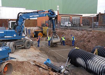 Über 60 Jahre Erfahrung im Kanal- und Wasserleitungsbau sowie mit großen Sanierungsprojekten