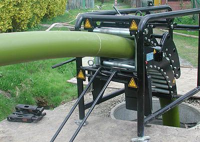Rohrsanierung/Kanalsanierung mit TIP (Tight in Pipe)-Verfahren