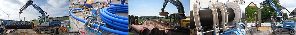 Seit 1946 ist das Bauunternehmen Rettberg aus Göttingen als Fachbetrieb in den Bereichen Kanal- und Wasserleitungsbau sowie Sanierung tätig.